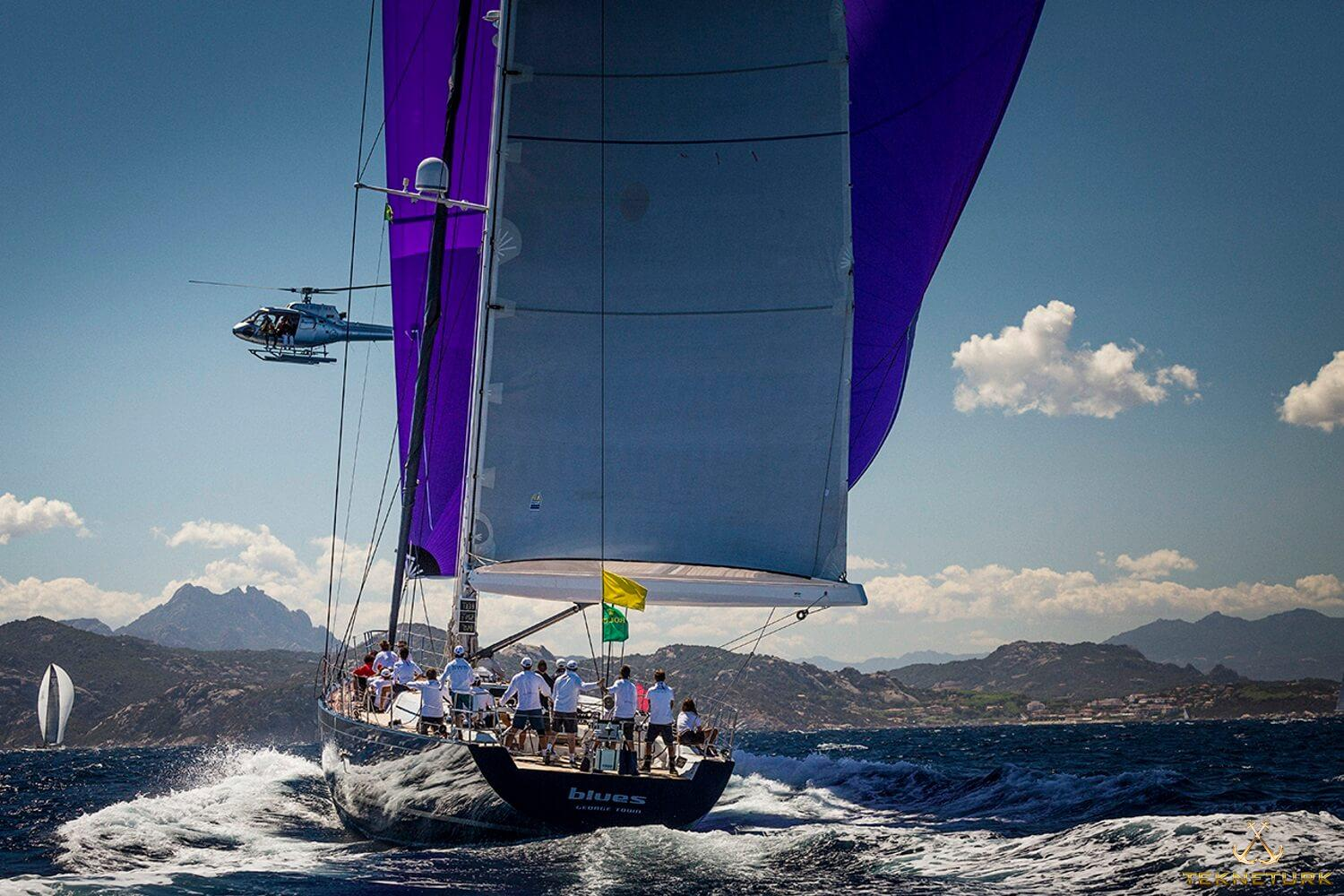 BLUES Sailing yachts